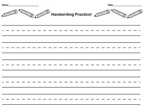 6+ Writing Paper Templates - Word Excel PDF Templates