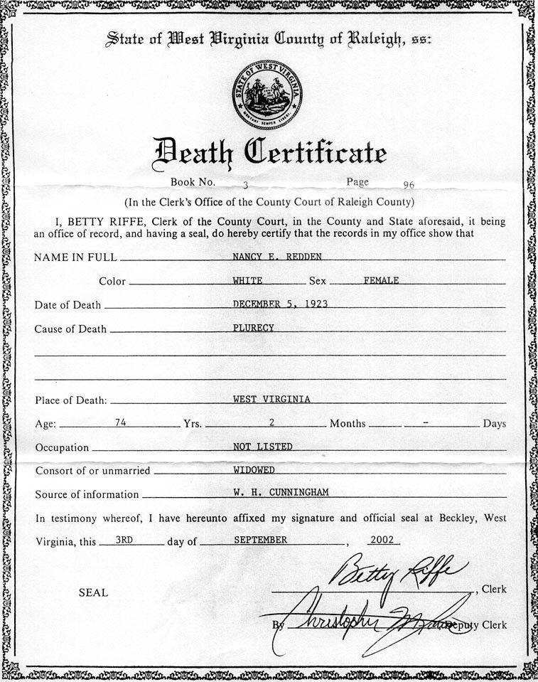 Death Certificate Template Word - Ecordura.com