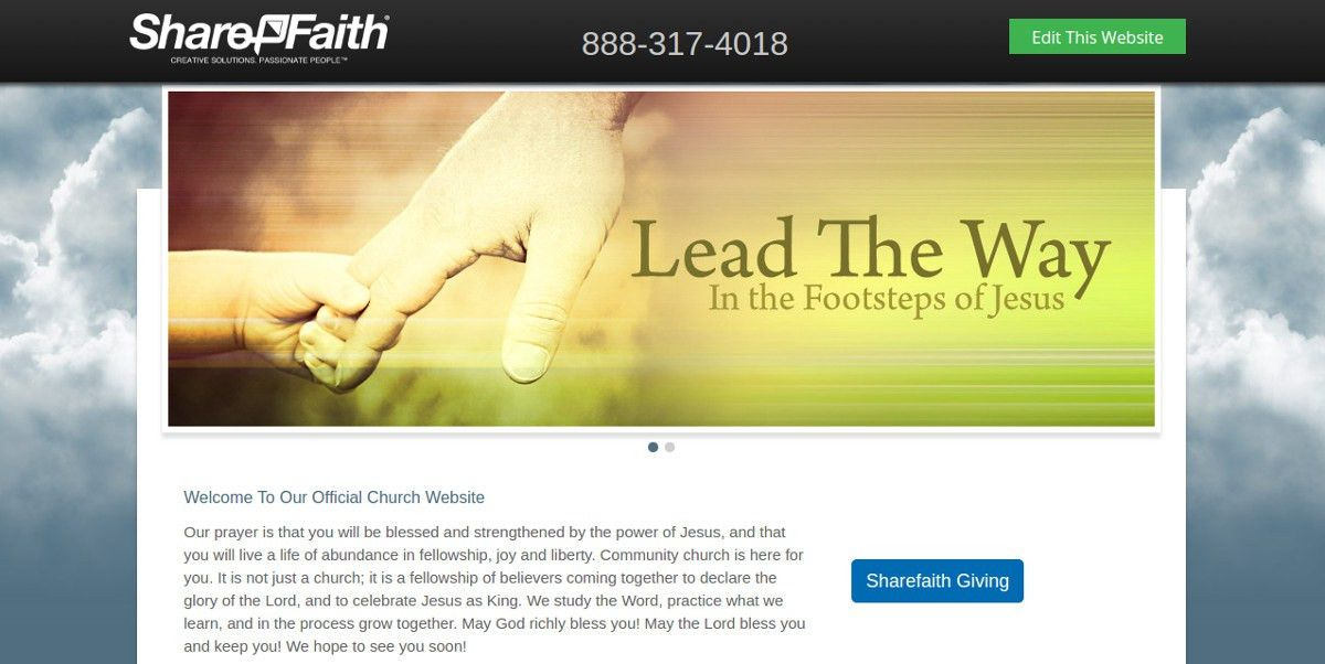 9+ Beautiful Free Church Website Themes & Templates | Free ...