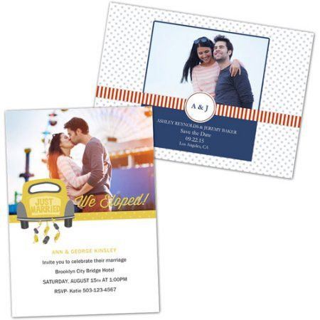 Amazing Walmart Photo Invitation Cards 90 In Create Engagement ...