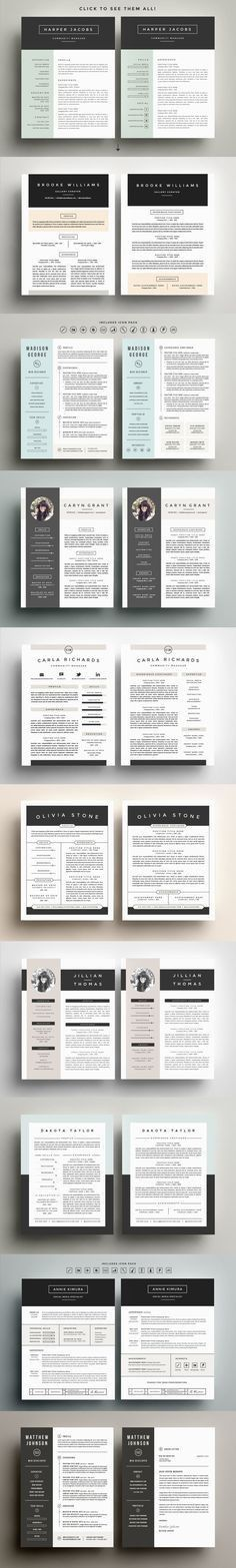 279 free resume templates in Word you can download, customize ...