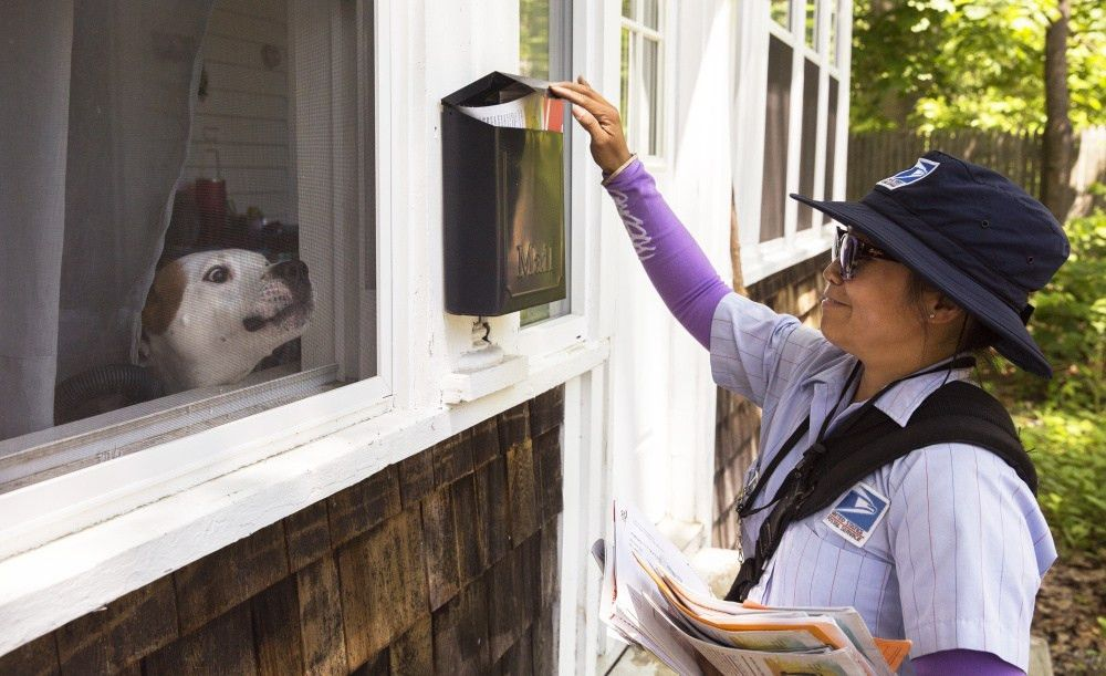 Mail carrier loves her job, with one big snarling exception ...