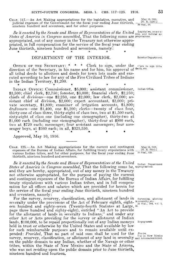 INDIAN AFFAIRS: LAWS AND TREATIES. Vol. IV, Laws