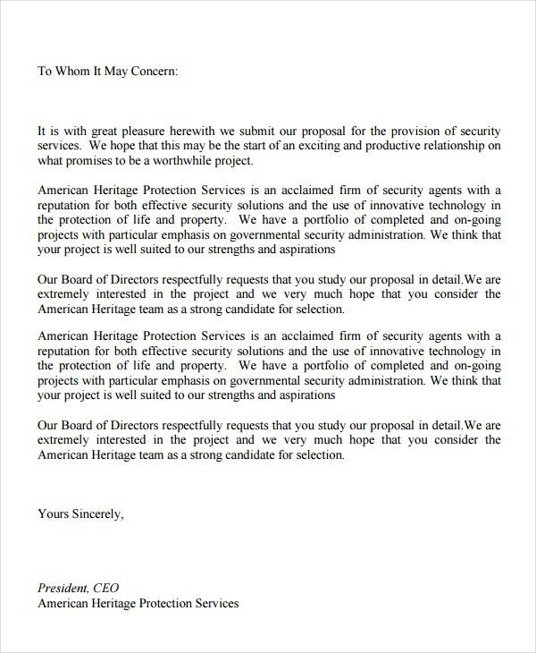 Sample Essay about Proposal services