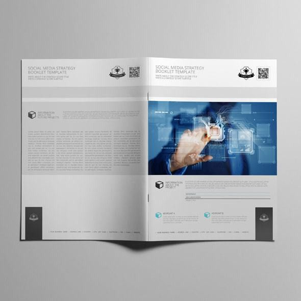 Booklet Template. Survey Of Quality A4 Booklet Template Brochure ...