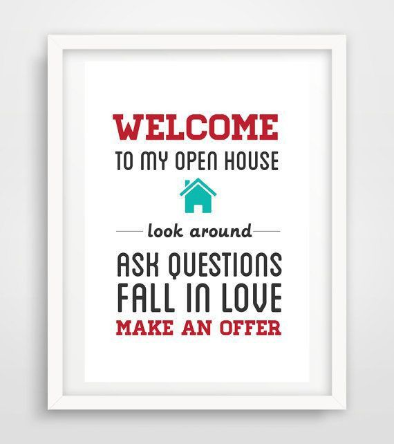 Best 25+ Open house signs ideas on Pinterest | Open house estate ...