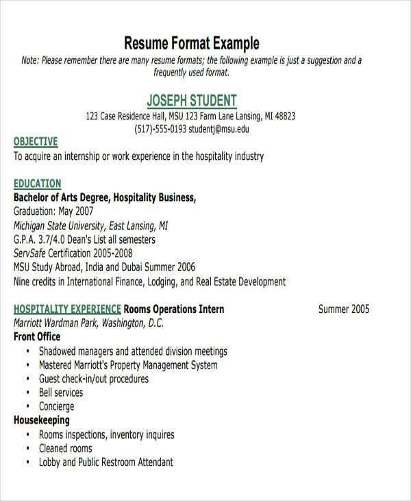 40+ Free Business Resume   Free & Premium Templates
