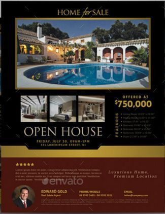 Open House Flyers for Mortgage Professionals | Open House Flyer ...