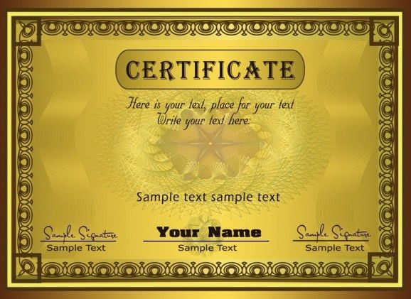Certificate border designs free vector download (5,961 Free vector ...