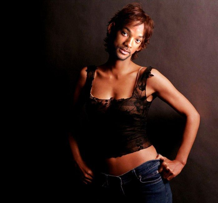 Celebrity Gender Swap Photos: Will Smith | Photoshopped ...