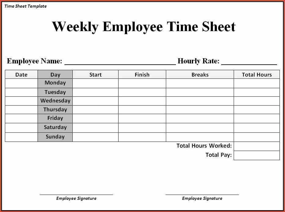 Sample Time Sheet. 8+ Bi Weekly Timesheet Template   Invoice ...