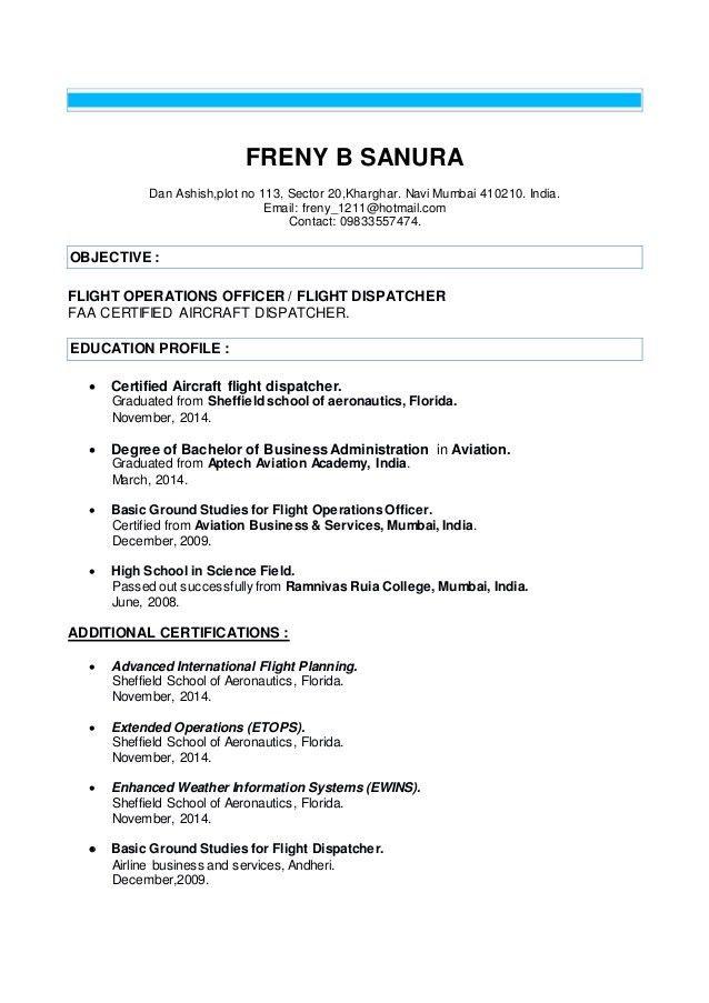 freny resume
