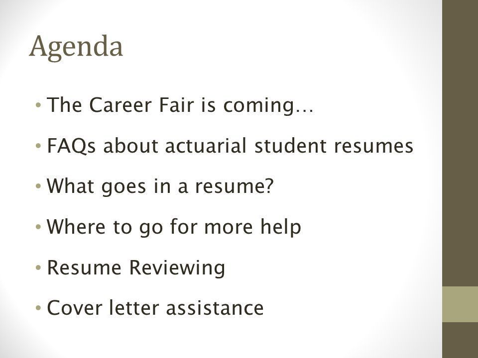 Resume and Cover Letter Workshop The Pennsylvania State University ...