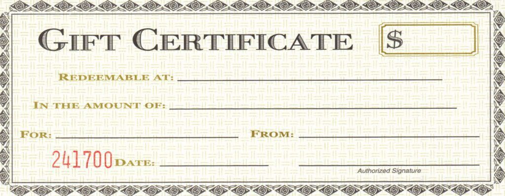 Prize Voucher Template. printable gift certificates this is ...