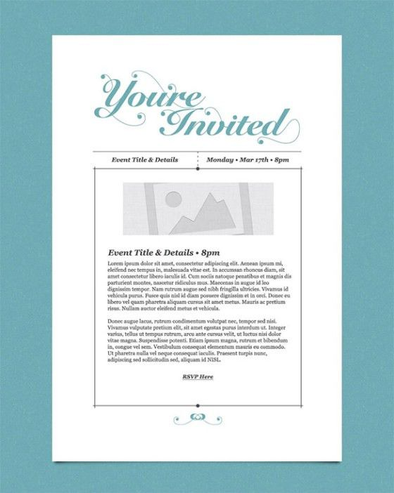 Business Invitation Template. 26 Free Printable Party Invitation ...