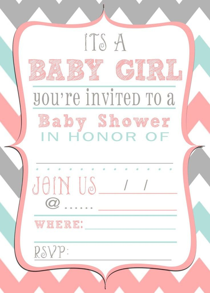 Baby Shower Invitations Template - marialonghi.Com