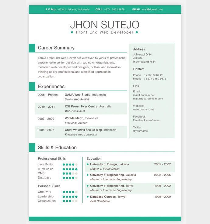 Best 25+ Resume builder template ideas on Pinterest | Resume ideas ...