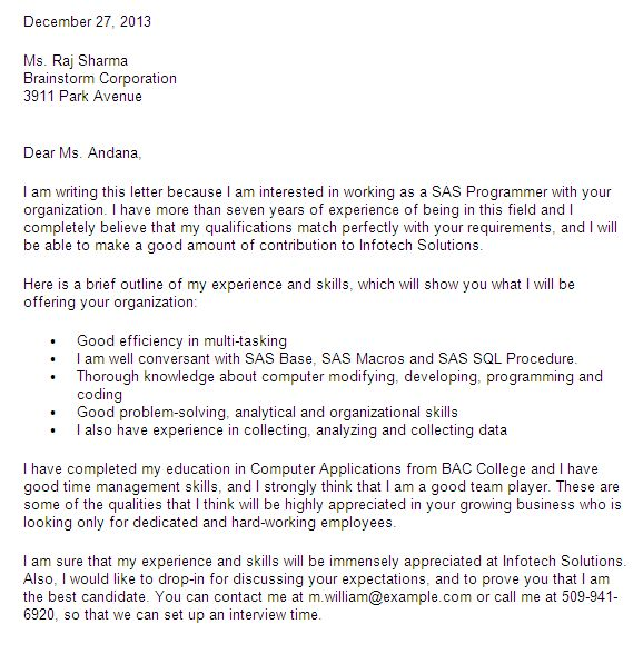 Data Scientist Cover Letter - CV Resume Ideas