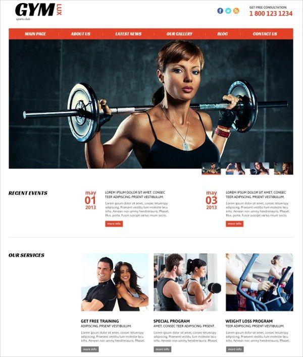 20+ Fitness Joomla Themes & Templates | Free & Premium Templates