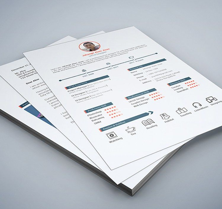 35 Best Free Resume Design Templates | ThemeCot