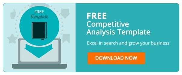 Competitive Analysis Template. Market & Competitor Analysis ...