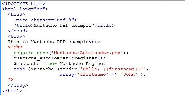 Tutorial on Getting Started with Mustache Template in PHP | Learn ...