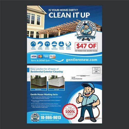 EDDM DESIGN for Pressure Washing Company | Postcard, flyer or ...