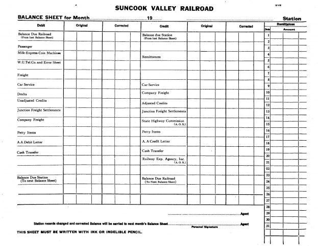 Blank Balance Sheet Template Balance : Selimtd