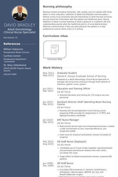 Graduate Resume samples - VisualCV resume samples database