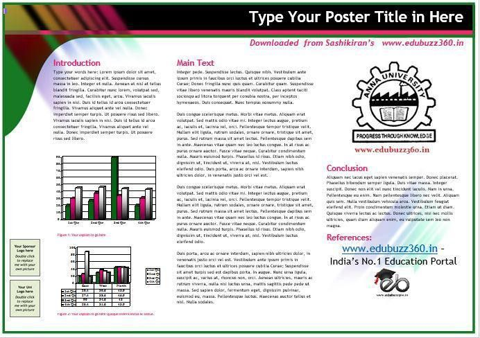 poster presentation template in word poster presentation template ...