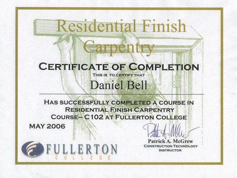 About Us | Daniel Bell Construction