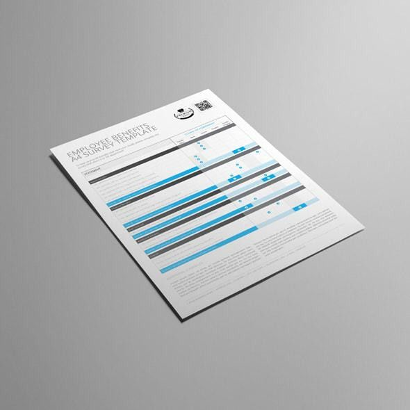 Employee Benefits Survey Template A4