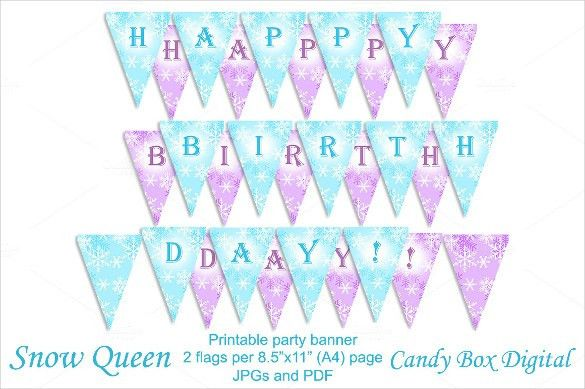 22+ Birthday Banner Templates – Free Sample, Example, Format ...