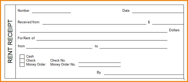 10+ printable rent receipt | writable calendar