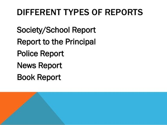Writing a Report (Tips and Sample of Reports)