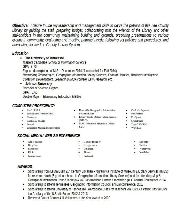 Principal Resume Template - 5+ Free Word, PDF Document Downloads ...