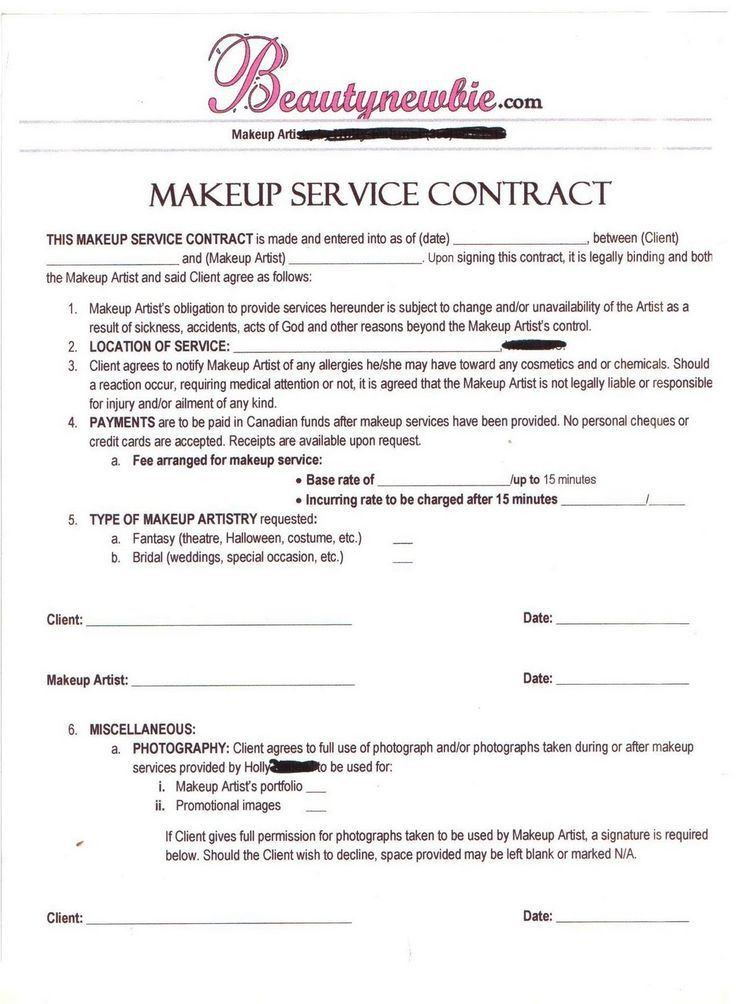 Artist Agreement Contract. Artist Agreement Contract Artist ...