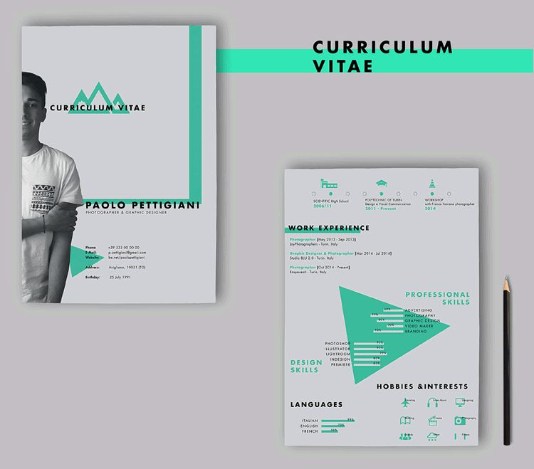 20 Beautiful & Free Resume Templates for Designers