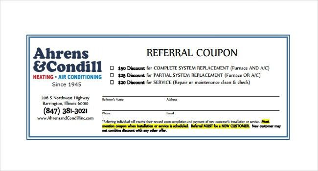 17+ Referral Coupon Templates – Free Sample, Example, Format ...