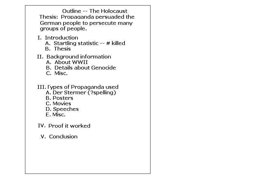 Mla Outline. Research Paper Outline Mla Format - 4+ Samples ...