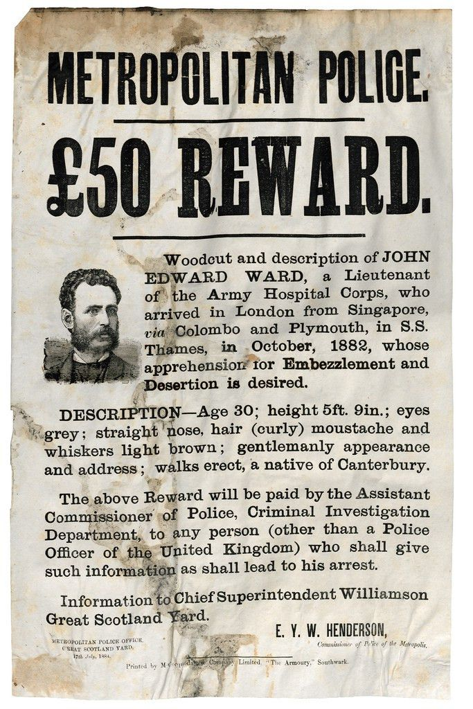 Wanted!! Thieves, Forgers and Murderers of the Victorian Age | Flickr