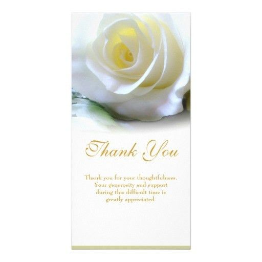 Thank You Card: Free Design Sympathy Card Thank You How To Send ...