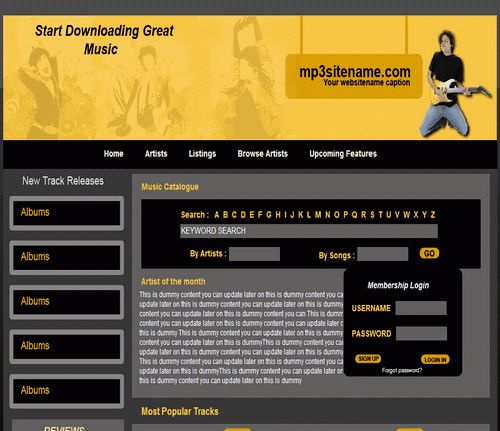 Free Download High-Quality Dreamweaver Templates: Enhancing the ...