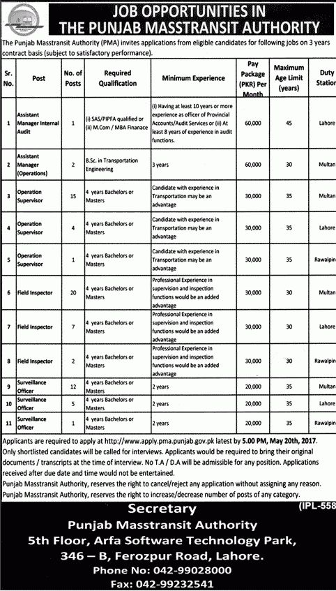 Assistant Manager, Field Inspector, Operation Supervisor Jobs ...