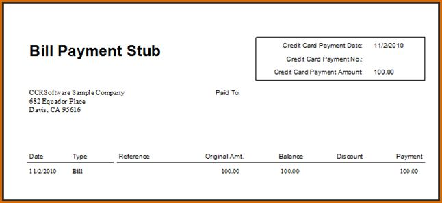 paycheck stub template