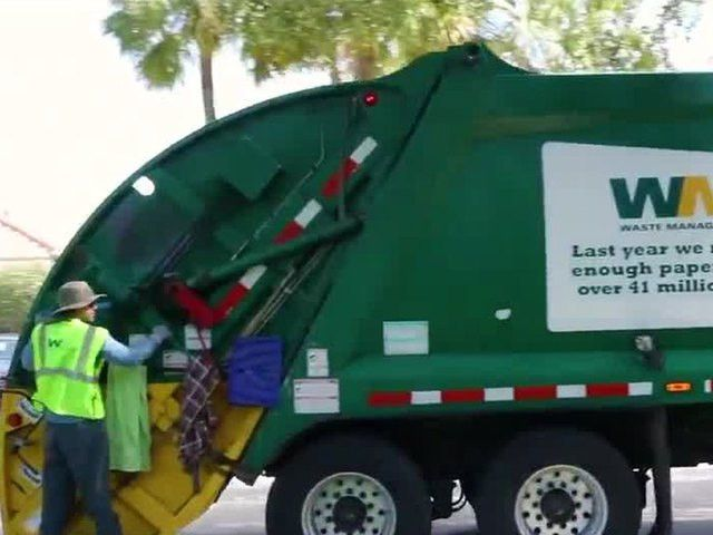 Garbage truck drivers helping keep communities safe - wptv.com