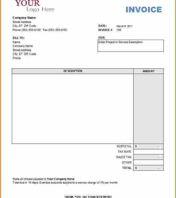 equipment rental invoice template | Free Invoice