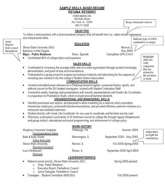 Charming Ideas Skills Based Resume 13 How To Write A Functional Or ...