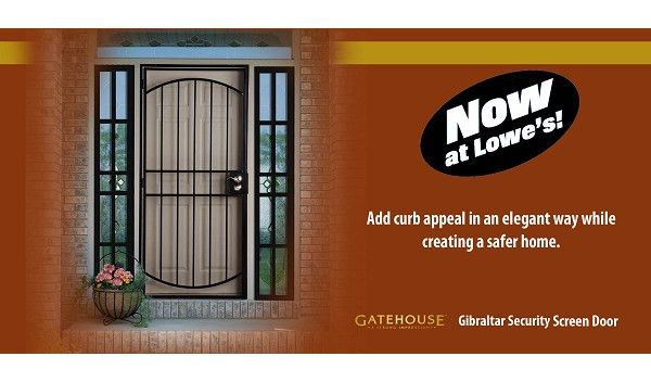 Larson Gatehouse Gibraltar Security Screen Door