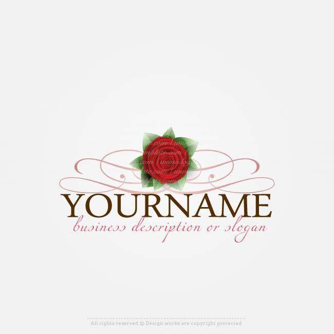 Online Logos Store - Rose logo template